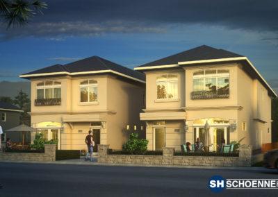 677 and 679 Churchill Avenue - Schoenne Homes inc.