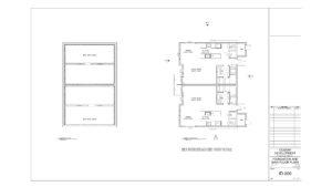 site plan 134 Cossar Avenue, Penticton, BC - Schoenne Homes Inc