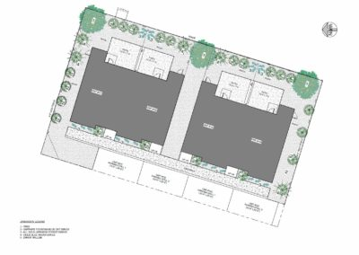 798 Revelstoke Ave - Site plan - Schoenne Homes Inc