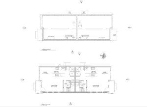 Main floor plan - Nelson Avenue Penticton, BC Schoenne Homes Inc.