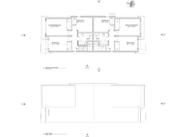 Main floor plan - Nelson Avenue Penticton, BC Schoenne Homes Inc.