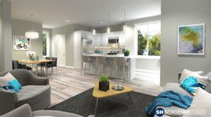 388 Eckhardt Ave interior - UPTOWN - Schoenne Homes Inc.